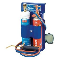 dual gas welding kit with cartridges