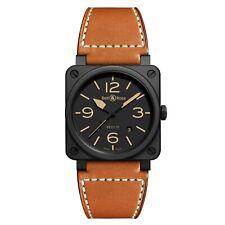 New Bell & Ross BR 03-92 Heritage Matte Black Ceramic Watch BR0392-HERITAGE-CE