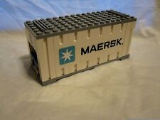 Lego Train City Creator Maersk White Container Mint 10219/10233/10194