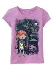 GAP KIDS GIRLS CITY GIRL ROME TEE TOP SIZE XS 4-5  NWT