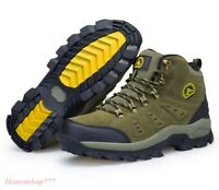 Waterproof Men's Hiking Shoes Climbing Boots Winter Outdoor Athletic Trekking