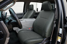 FORD F-150 2015-2018 CHARCOAL S.LEATHER CUSTOM MADE FIT FRONT SEAT COVER