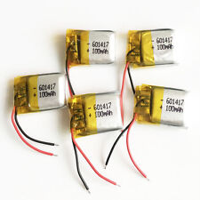 Lot 5pcs 3.7V 100mAh lipo Polymer ion Battery For MP3 Bluetooth vedio Pen 601417