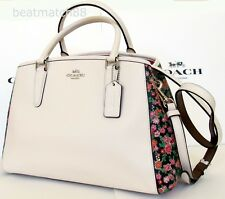 Coach Margot pearl Carryall Posey Cluster Floral carryall in F57631 purse bag