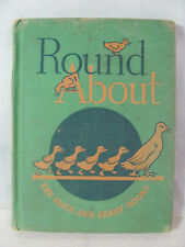 Round About The Jerry and Alice Books 1936 Reading Foundation Series