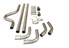"2.5"" PERFORMANCE UNIVERSAL EXHAUST CAT BACK FULL SYSTEM PIPING PIPE KIT"