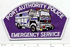 Port Authority Police (New York & New Jersey) Emergency Service Blue Patch