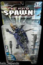 SPAWN 15. techno spawn: acier piège. mcfarlane toys spawn.com nouveau! rare!