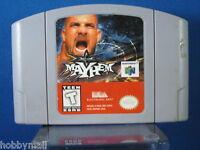 Nintendo 64 N64 WCW Mayhem Video Game