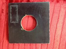 """C"" Graflex Lens Board (original),drilled To 1.54""/39mm"