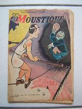DUPUIS / LE MOUSTIQUE / 22 ANNEE NUM 16  /  AVRIL   1946  /  COUVERTURE  SIRIUS