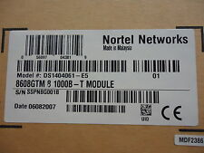 Ds1404061-E5 Nortel Networks 8608Gtm 8 1000B-T Module (Rohs) Brand New!