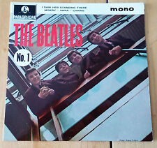 "The Beatles 'The Beatles No.1' 4 songs Mono 7"" vinyl 45RPM EP with Center"