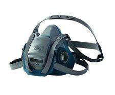 3m 6501ql rapide loquet moitié facepiece réutilisable respirateur masque petites