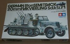 Tamiya 35050 - German 8ton Semi Track , 20mm Flakvierling Sd.Kfz.7/1 , 1:35