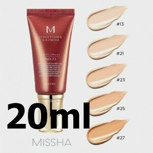 Missha M Perfect Cover BB Cream 20ml - #13, 21, 23, 25, 27 Official Distribution