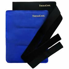 Ice Packs for Injuries Reusable Large Hot Cold Gel Pad Wrap w/Strap for Back Hip