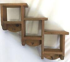 Wooden Shelf w/ Pegs Wall Hanging