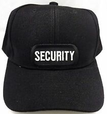 SECURITY Guard Cop Embroidered Patch Baseball Ball Cap Adjustable Biker CAP-0031