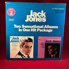 JACK JONES  A Very Precious Love + This Love of Mine 1966 USA Double Vinyl LP EX
