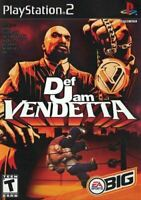 Def Jam Vendetta - Authentic Sony Playstation 2 PS2 Game