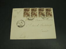 Morocco 1940 airmail cover to switzerland *30015