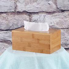 Large Home Room Car Hotel Tissue Box Wooden Box Paper Napkin Holder Case P