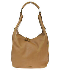 Auth Gucci Leather Shoulder Bag Brown 03GC249