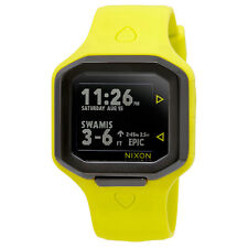 Nixon Ultratide Mens Digital Yellow Sports Watch A476-2111-00