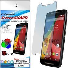 3 Film For Motorola MOTO G 2 2ND Gen G2 2014 Protector Save Screen Dislay