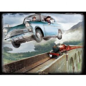 Harry Potter 3D Image Puzzle 500pc Ford Anglia Official Merchandise