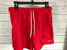 Nike vintage women's medium red shorts active wear Just Do It M