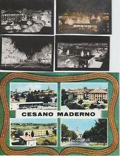 1966 CESANO MADERNO MILANO BOZZA DI CARTOLINA CON NEGATIVI