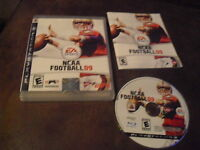 NCAA Football 09  (Sony Playstation 3, 2008) - Complete