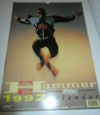 MC M.C. HAMMER 1992 Calendar Calendario Calendrier Kalender Too Legit To Quit 2