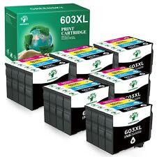 Druckerpatronen für Epson 603 XL XP2100 XP3100 XP3105 XP4100 WF-2830 2835 DWF...