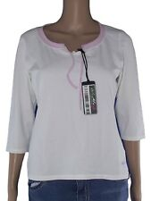 asics maglia donna sport bianco taglia l large