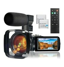 Video Camera Camcorder with Microphone Full HD 1080P 24MP 30FPS