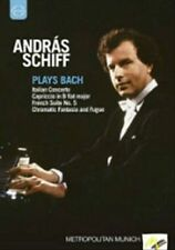 Andras Schiff Plays Bach, New DVDs