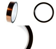 1 Rolle Polyimid / Kapton hochtemperatur Klebe / Isolierband 19mm x 33m