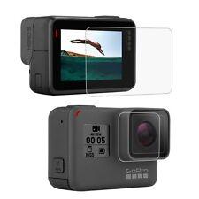 per GoPro HERO5 Temperato Glass Lenti+LCD Display Proteggi Schermo Vetro