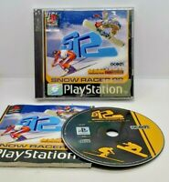 Snow Racer Video Game for Sony PlayStation PS1 PAL TESTED