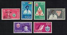 Togo Boy Scout Movement Commemoration 6v MNH SG#281-286