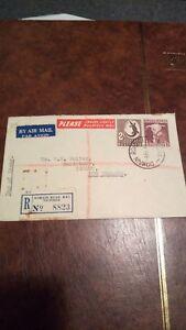 Australia 1948 Air Mail Cover/registered FDC $5 start!!