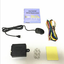 New 12V Car Headlight Headlamp Smart Control System Automatic On/Off Custom Kit