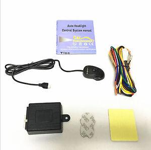 New 12V Car Headlight Headlamp Smart Control System Automatic On/Off Custom Kit
