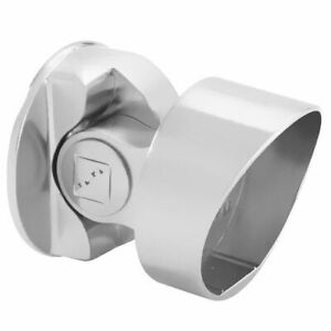 Fusion Chrome Storey Newel Connector for 54mm Handrail to Square Newel