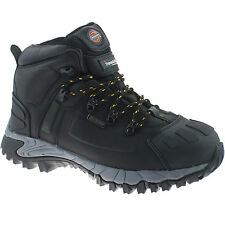 DICKIES MEDWAY BLACK SAFETY BOOTS SIZE UK 7 EU 41 FD23310 WATERPROOF HIKER