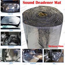 8Sqft 100CMX76CM 10mm Door Hood Engine Heat Noise Sound Deadener Insulation Mat