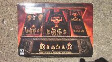 Diablo Battle Chest PC,2001 Complete Diablo 1, Diablo 2 II,Diablo 2 II Expansion